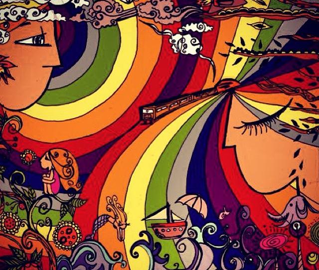 El tren a colores