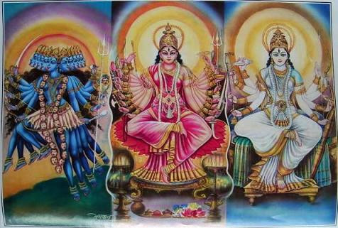 WHAT IS THE DECODATION OF THREE FORMS OF DEVI KUNDALINI? IS THERE A PARTICULAR GOAL TO ACHIEVE ?K.A.