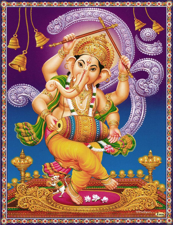 HOW CAN WE DESCRIBE 32 FORMS OF SRI GANESH ACCORDING TO AGAMIC SCRIPTURES ?