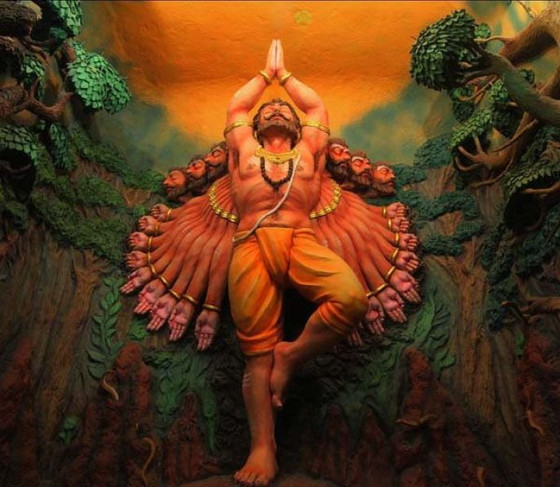 WHY WAS RAVAN'S LIFE LOCATED IN HIS NAABHI?WHAT IS THE VEDIC CONCEPTION OF SOUND?