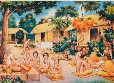 भारतवर्ष के गुरुकुलों में क्या पढ़ाई होती थी?