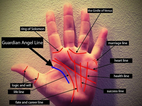 WHAT IS THE SIGNIFICANCE OF GUARDIAN ANGEL LINE?