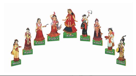 श्रीराधा की परमप्रिय अष्टसखियां...