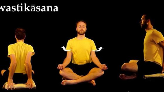 IMPORTANT IMAGES OF AASAN FOR PRANAYAMA & MEDITATION-- PRANAYAMA- 18