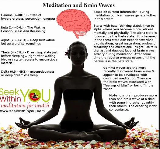 WHAT IS THE RELATION BETWEEN BRAIN WAVES &TRANSCENDENTAL  MEDITATION?WHAT'S WRONG WITH HAVIN
