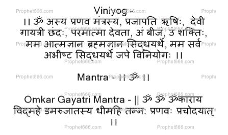 WHAT IS PRANAV MANTRA SADHNA IN NUTSHELL?