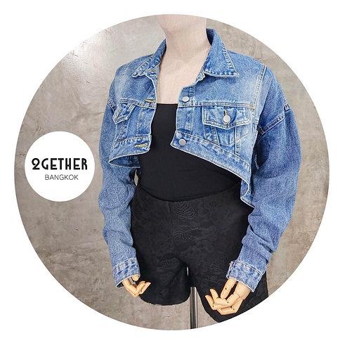 No. 951# Cropped Denim Jacket  แจ็กเกตเอวยก