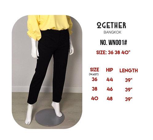 No.WN001# กางเกงสแลคผ้าโรเชสญี่ปุ่น