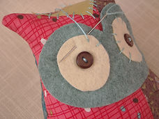 patchwork owl how to