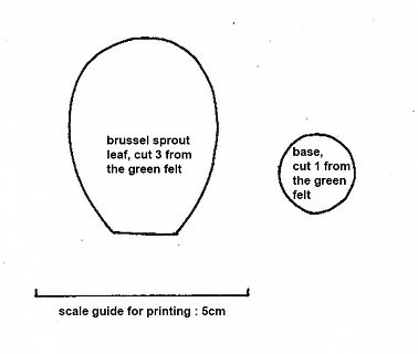 brussel sprout templates