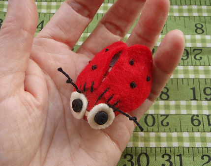 ladybird softie sewing pattern