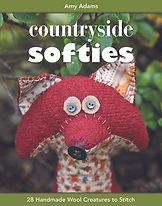 countryside softies by Amy Adams sewing project book