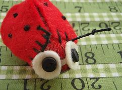 handmade ladybird softie