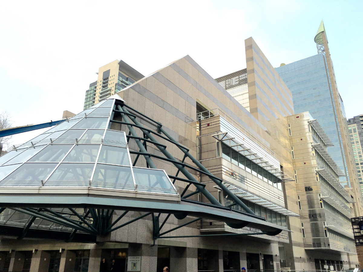 North York Central Library, Toronto