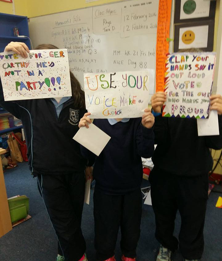 4th and 5th class slogan winners