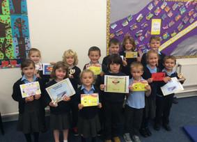 Junior Assembly Awards