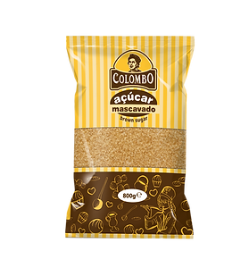 Açúcar natural colombo raw sugar