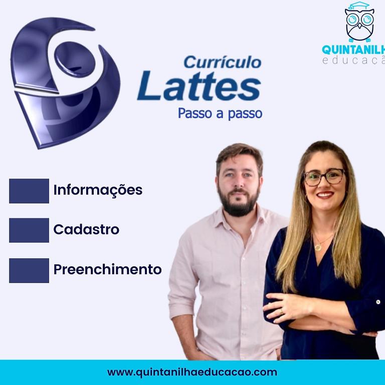 Currículo Lattes - Passo-a-passo
