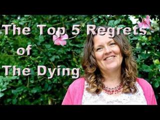 5 arrepentimientos antes de morir (Bronnie Ware).