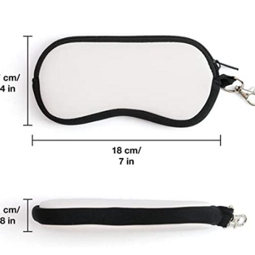 Sublimation Eye Glass Case