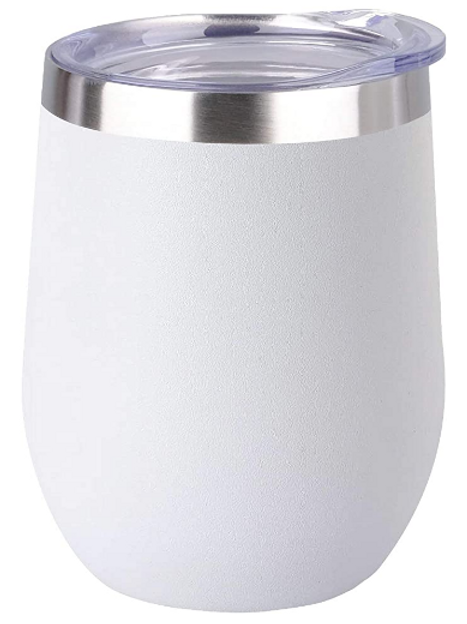 Insulated Wine Tumbler with Lid