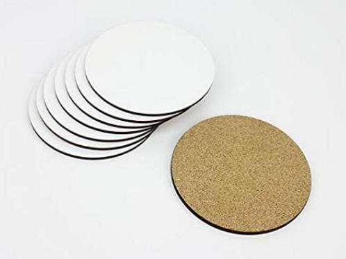 Sublimation Round Coaster (4pk)