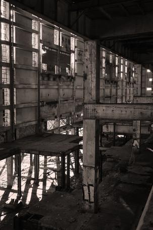 Power Station Industrial Landscape