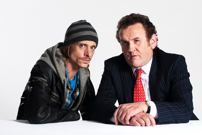 McKenzie Crook and Colm Meaney