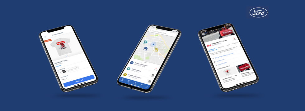 Ford: Retail on Wheels App