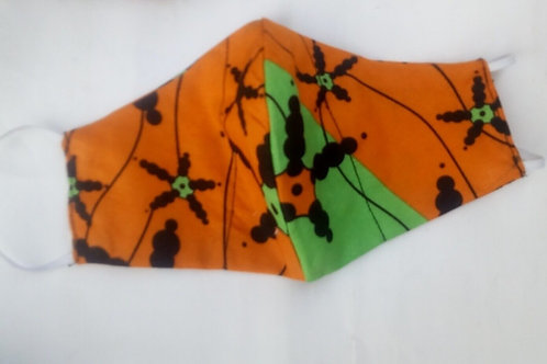 African Print Face Mask   Cloth Mask