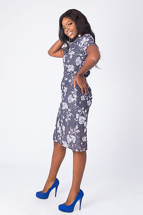 Chantili Lace Dress -Floral Dee
