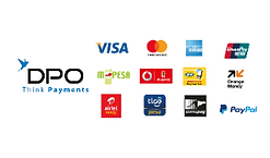 One of the payments provider on Mieko Michi,DPO. Options available are Mastercard,Visa,Mpesa,Paypal