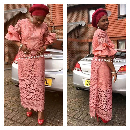 Aso-ebi styles trendy and chic
