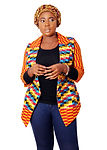 Click to shop online two pieces African print set by Mieko Michi for sale.
