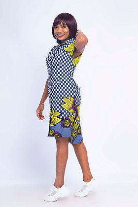 African Shift Dress