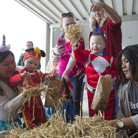 A special time: Fun activities focus of fall festival for disabled children