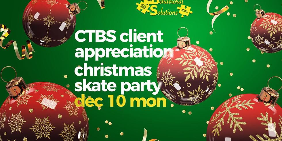CTBS Client Appreciation Christmas Skate Party