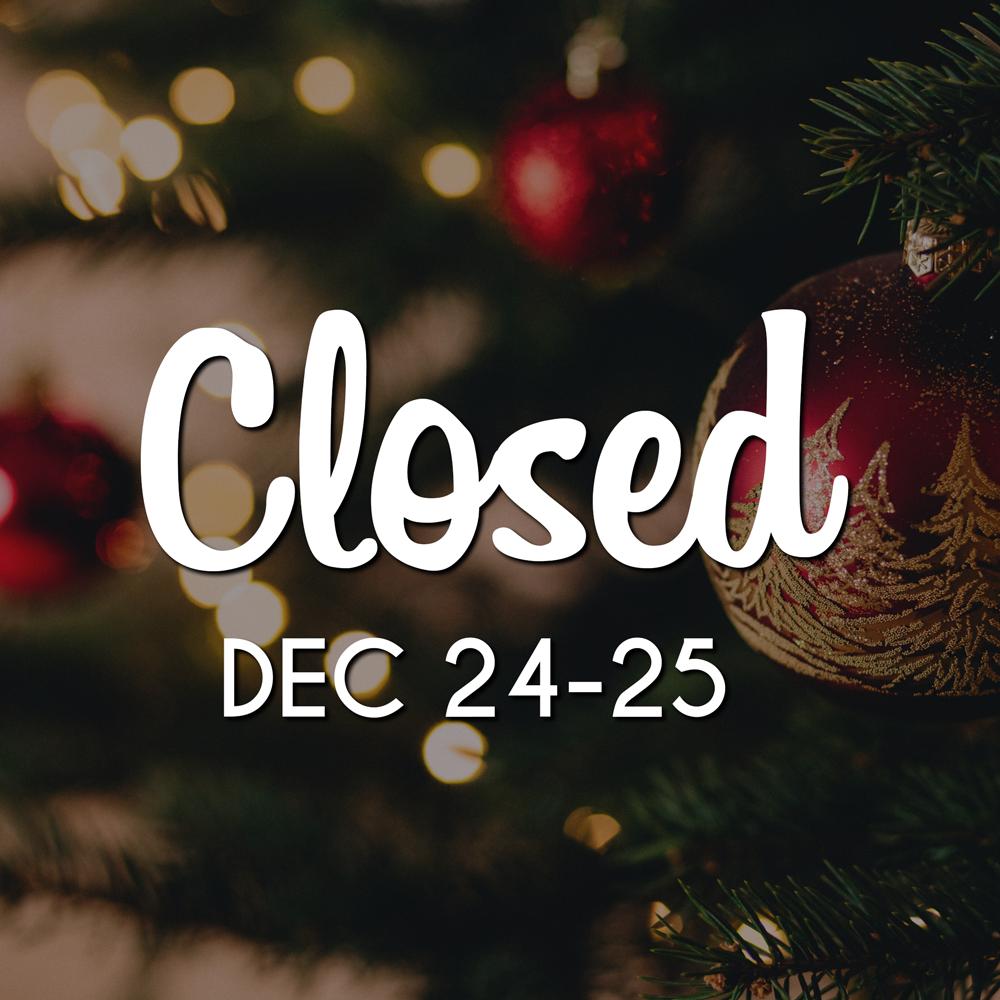 Closed For Christmas.Closed For Christmas Eve Christmas