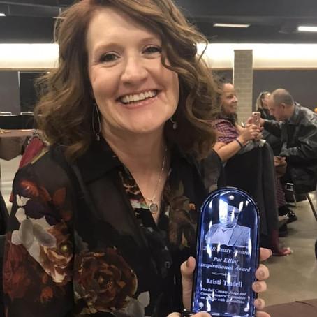 Congratulations, Kristi Tindell!
