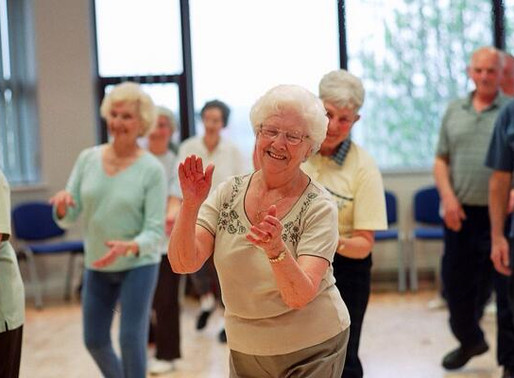 Dancing - it's fun and good for you.