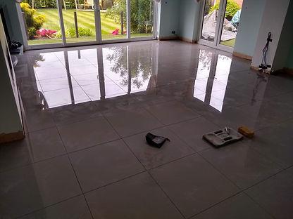 floor tiling, liverpool, grey gloss porc