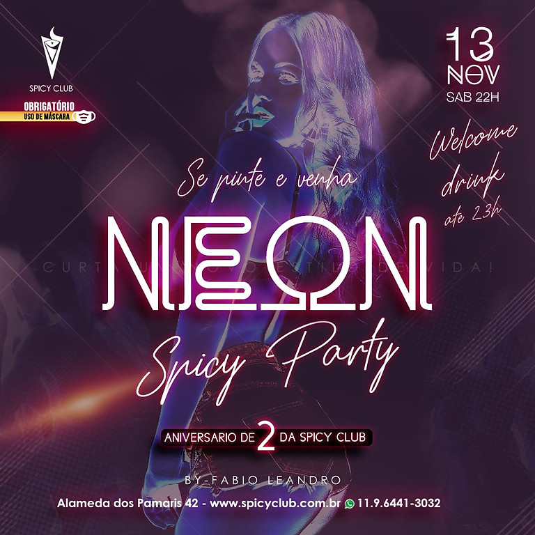 Festa Neon (Spicy Party)