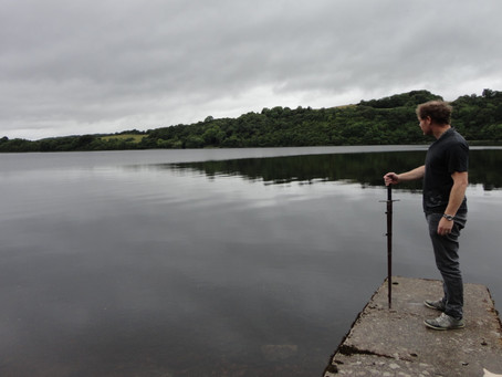 A legend in the lake of Ireland