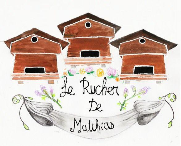Le Rucher de Matthias, logo