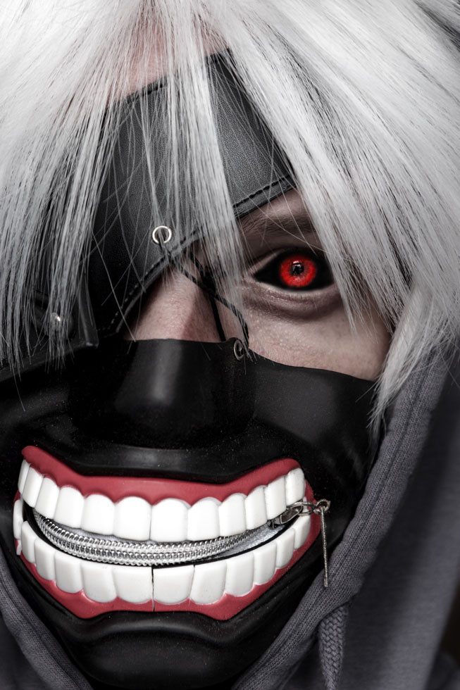 Ghoul Porträt Kaneki Ken Anime Tokyo Ghoul Cosplay