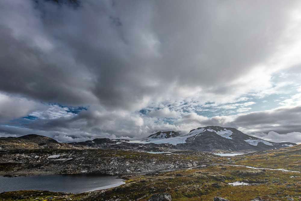 Jotunheimen, Nationalpark, Norwegen, Wolken, Berge, Weite Landschaft