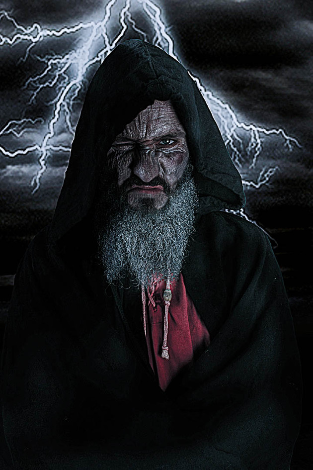 Nilo as the all-father Odin-Wotan-Woden