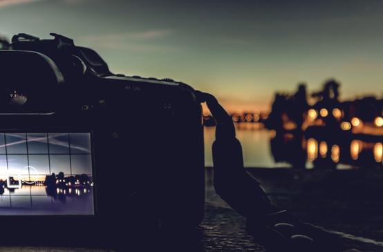 Kamera im Bild