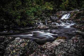 Stream in Norway near Jotunheimen