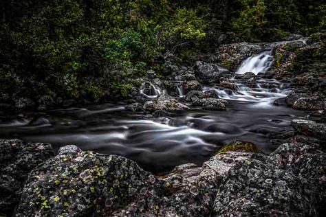 Bachlauf in Norwegen Nahe Jotunheimen